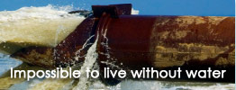Slogan: Impossible to live without water